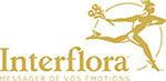 logo interflora, johana amourdedieu