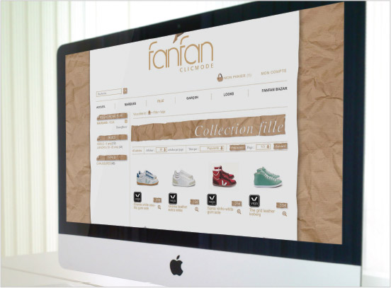 site internet, design graphique, univers graphique, illustration, fanfan, graphiste freelance