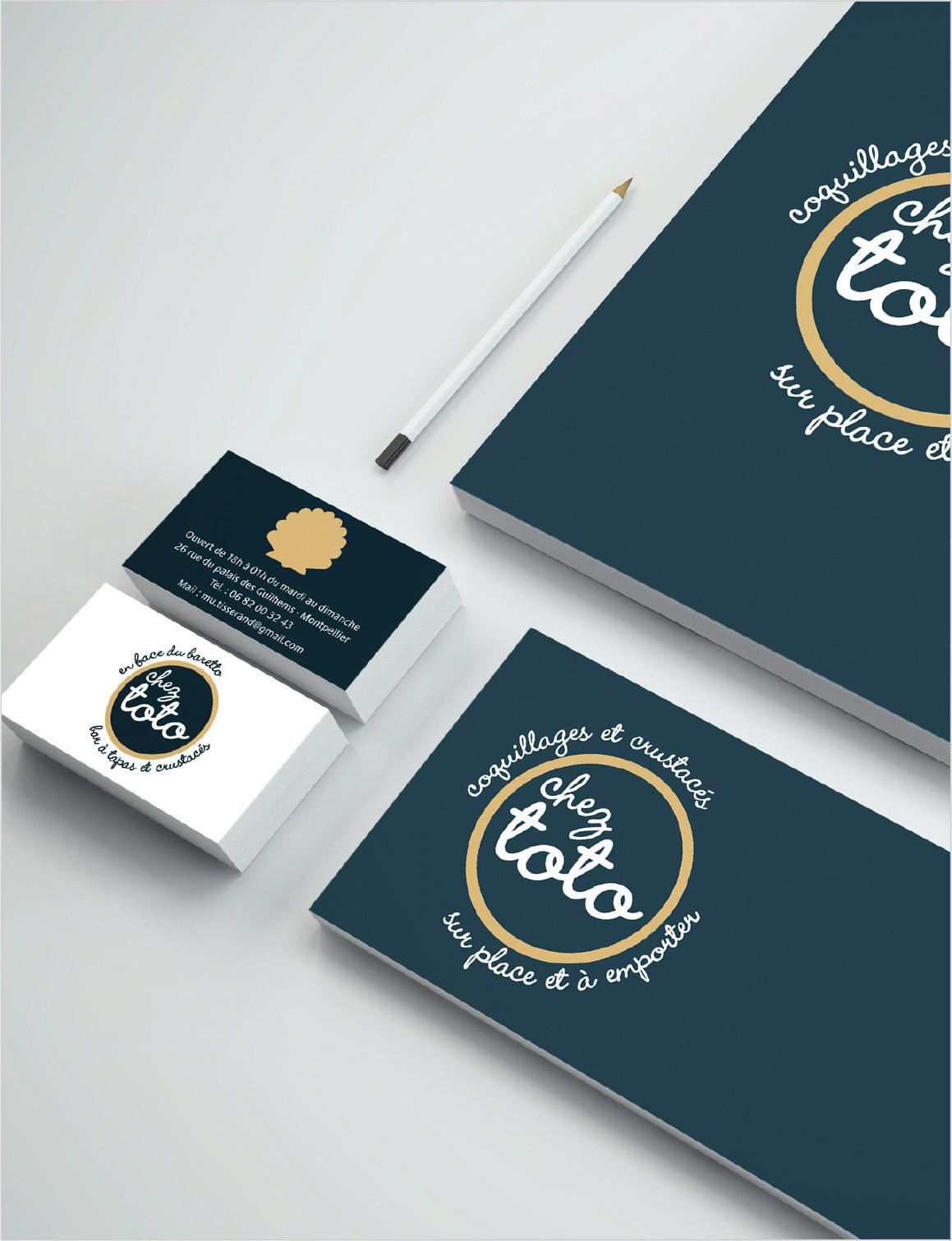 Logo, restaurant, graphiste freelance