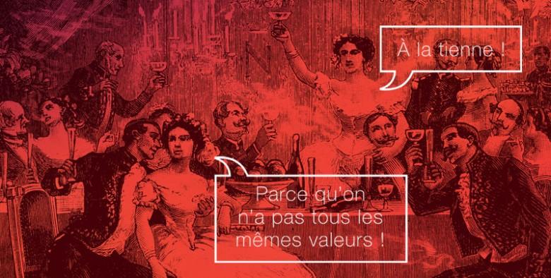 Mes valeurs, graphisme