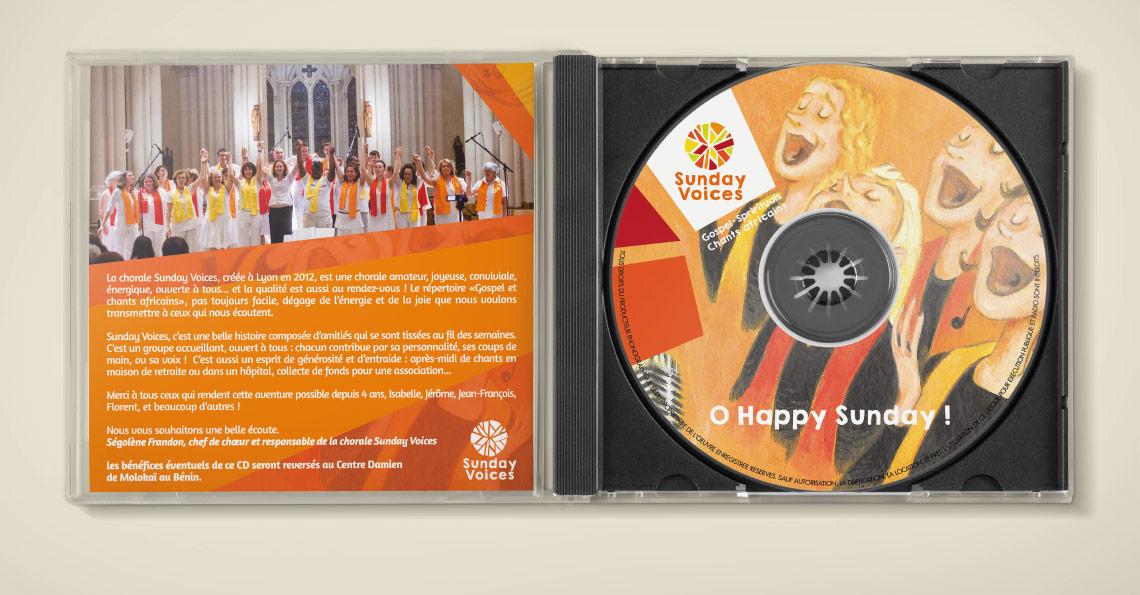 pochette cd, graphiste freelance