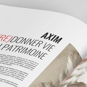 catalogue, axim, graphiste freelance