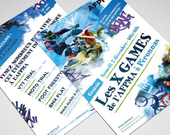Flyer, événement, graphiste freelance