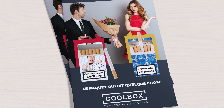 plaquette, concept de communication, coolbox