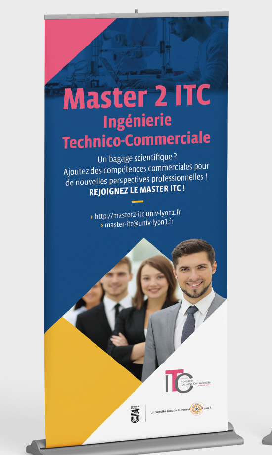 roll-up, master 2 ITC, université lyon 1