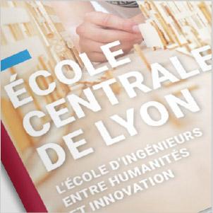 vignette, catalogue, école centrale de Lyon